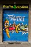 groentehandelaar Stock Foto's