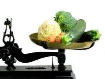 Groenten 4 van het dieet Stock Afbeeldingen