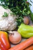 Groenten als gezond voedsel Stock Foto's