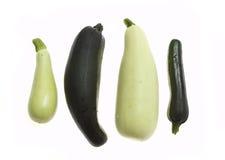 Groenten: courgette en pompoen Stock Afbeelding
