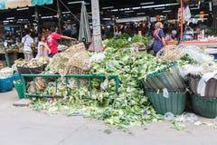Groenten in de markt als ingrediënt in voedsel of huisdieren. Royalty-vrije Stock Foto's