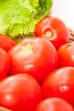 Groenten in een mand Stock Afbeeldingen