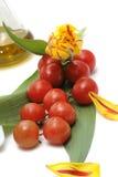 Groenten en bloem Stock Foto