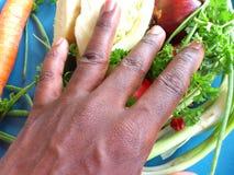 Groenten en culinair art. Stock Fotografie