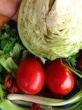Groenten en culinair art. Royalty-vrije Stock Afbeelding
