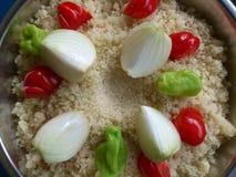 Groenten en culinair art. Royalty-vrije Stock Fotografie