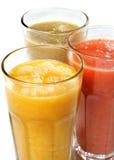 Groenten en Fruit Smoothie Royalty-vrije Stock Fotografie