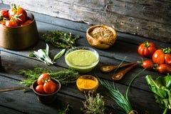 Groenten en kruiden Stock Afbeelding