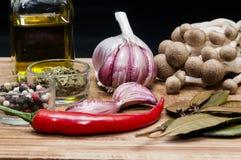 Groenten en kruiden Stock Foto