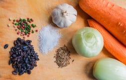 Groenten en kruiden Royalty-vrije Stock Afbeeldingen