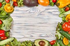 Groenten en salade stock foto's