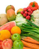 Groenten en Vruchten Royalty-vrije Stock Afbeelding