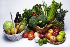 Groenten en vruchten Royalty-vrije Stock Foto
