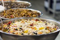 Groenten in het zuur in een markt Royalty-vrije Stock Afbeelding