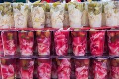 Groenten in het zuursap Stock Fotografie