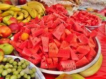 Groenten in markt Royalty-vrije Stock Foto