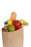 Groenten, olie en brood. Royalty-vrije Stock Foto