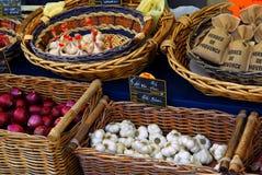 Groenten op de markt Stock Afbeelding