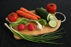 Groenten voor salade Stock Foto