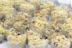 Groentenkouskous klaar te eten stock afbeelding