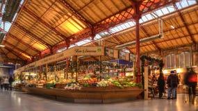 Groentenmarkt in Colmar Stock Fotografie