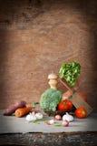 Groentenstilleven royalty-vrije stock afbeelding