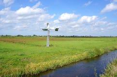 Groenzoom在Pijnacker,荷兰附近的自然区域 免版税库存照片