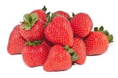Groep aardbeien Stock Afbeelding