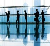 Groep Bedrijfsmensen het Bureau Royalty-vrije Stock Afbeeldingen