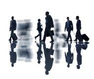 Groep Bedrijfsmensen met Bedrijfsreisconcept Stock Foto