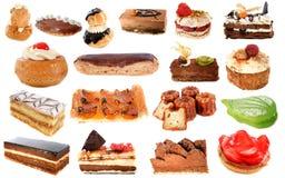Groep cakes Royalty-vrije Stock Afbeeldingen