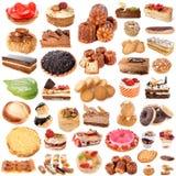Groep cakes Royalty-vrije Stock Fotografie