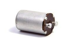 Groep condensatoren op wit Royalty-vrije Stock Foto