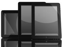 Groep de Computers van de Tablet stock illustratie