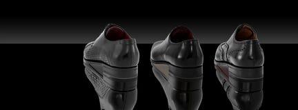 Groep de schoenen van mensen Royalty-vrije Stock Afbeelding