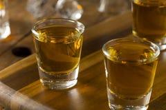 Groep de Schoten van de Bourbonwhisky stock foto