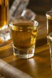 Groep de Schoten van de Bourbonwhisky royalty-vrije stock foto's