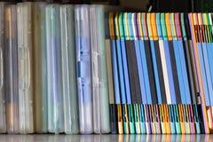 Groep diskette Stock Foto's