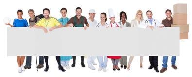 Groep diverse beroeps Stock Foto's
