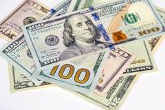 Groep Dollarsrekening Stock Foto's