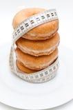 Groep doughnuts Stock Foto