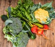 Groep groenten van de tuin Royalty-vrije Stock Afbeeldingen