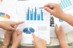 Groep het bedrijfsmensen richten Stock Afbeelding