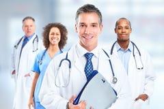 Groep het ziekenhuis artsen stock foto's