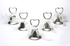 Groep huwelijksklokken royalty-vrije stock afbeelding