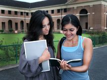 Groep Indische studenten. Royalty-vrije Stock Foto