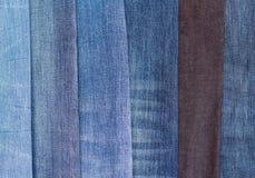 Groep jeans Stock Fotografie