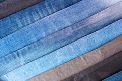 Groep jeans Stock Afbeelding