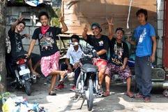 Groep Jonge Aziatische Mensen Stock Foto's