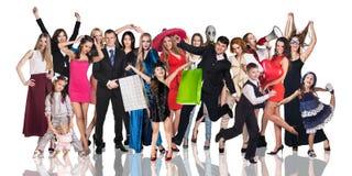 Groep jonge mensen Royalty-vrije Stock Fotografie